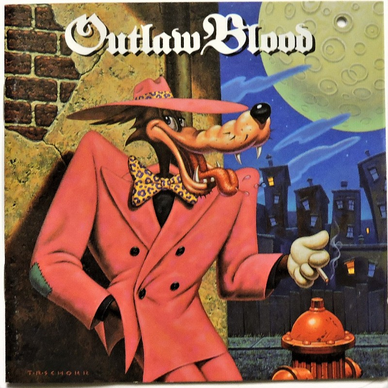 OUTLAW BLOOD - Outlaw Blood / USA CD 1991 / Rare Hard Rock