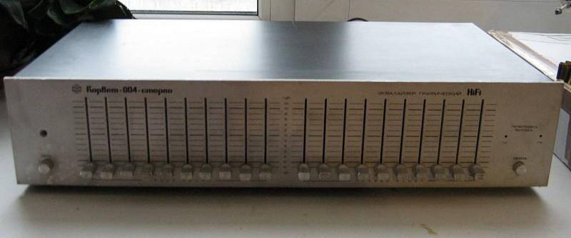 Эквалайзер Корвет-004-стерео.