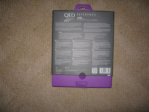 QED  Reference USB A-B 2.0  \   1 m