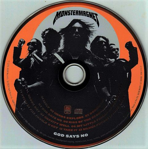MONSTER MAGNET ‎– God Says No / CD