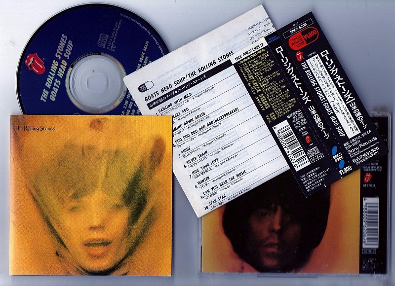 ФИРМЕННЫЙ JAPAN CD.The Rolling Stones–Goats Head Soup -1973.(SRCS-6206)-1992