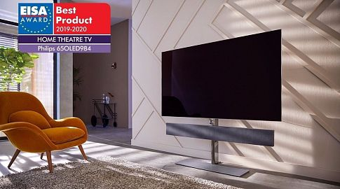 Philips OLED984 - новый телевизор с Dolby Vision