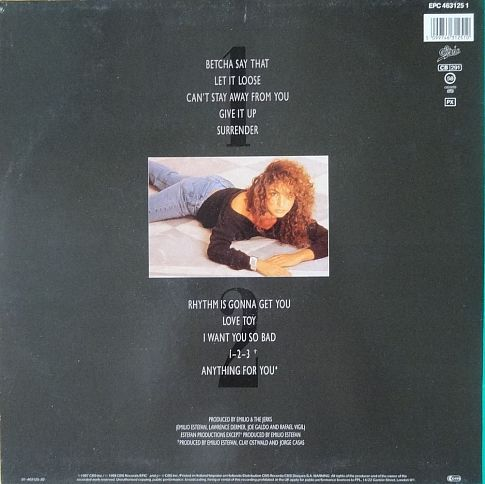 Винил Gloria Estefan - Anything for you/ 1987/ Holland