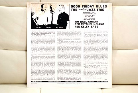 The Modest Jazz Trio ‎– Good Friday Blues ‎– LP