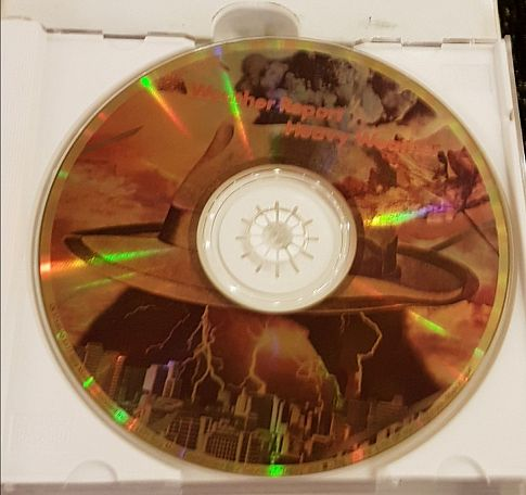 Weather Report, Gold CD,  (Rare), Limited Edition