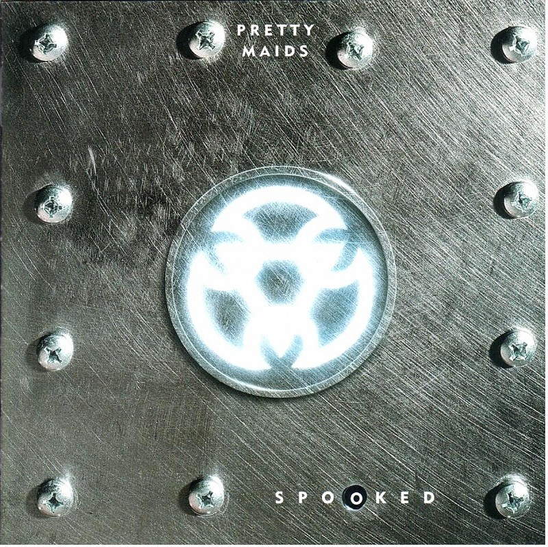 cd Pretty Maids  ‎– Spooked  1997