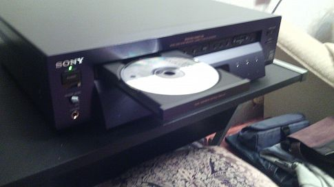Топовый CD / DVD sony dvp S - 7000. Pioneer PD-S