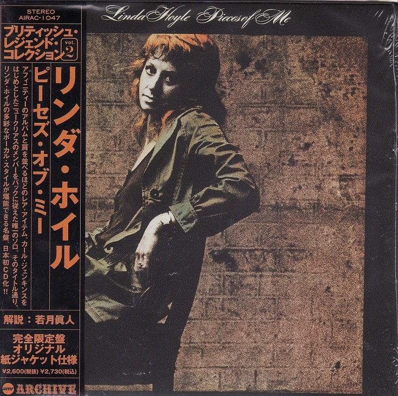 ФИРМЕННЫЙ CD. LINDA HOYLE(Affifity) - PIECES OF ME. JAPAN CD.Mini-LP SLEEVE