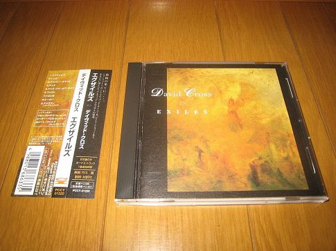 ФИРМЕННЫЙ CD.  DAVID CROSS - EXILES . JAPAN CD.(KING CRIMSON)