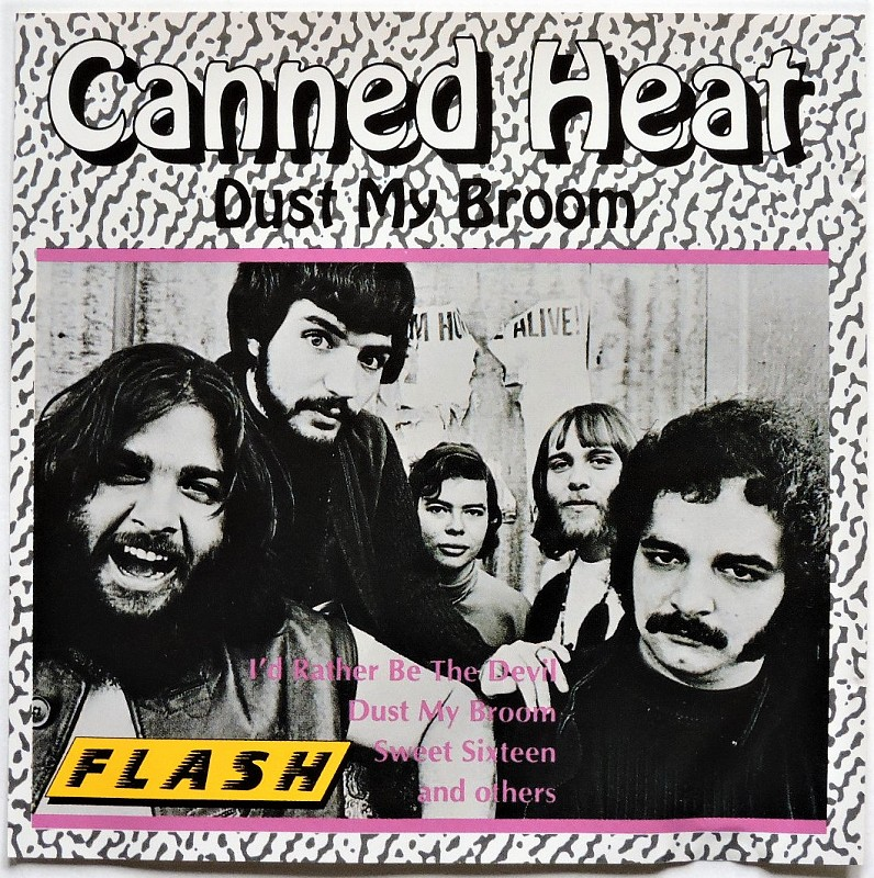 CANNED HEAT - Dust My Broom / Germany ADD