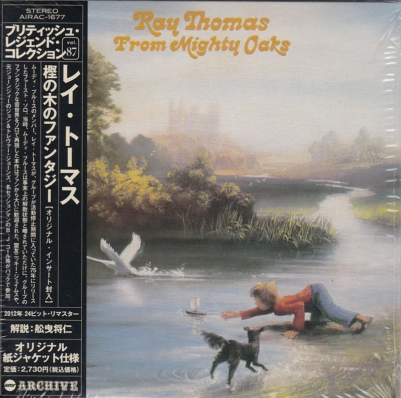 RAY THOMAS (The Moody Blues)75г. –JAPAN CD. (Mini-LP SLEEVE)ФИРМЕННЫЙ CD.