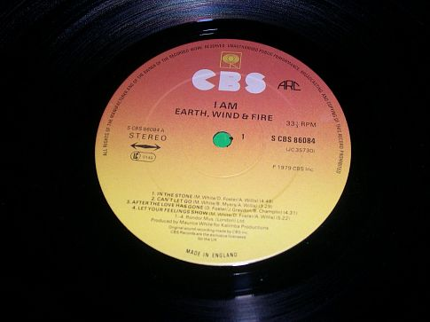 "Earth, Wind & Fire - ""I Am"""