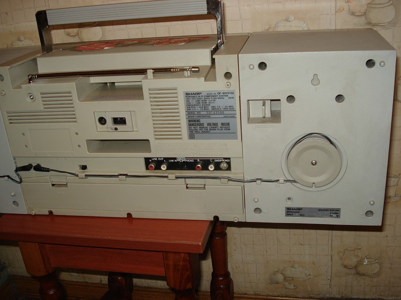 Продаю SHARP GF-800Z (S) серебристый. . Косметика на 4+, полностью исправный, после настройки и профилактики