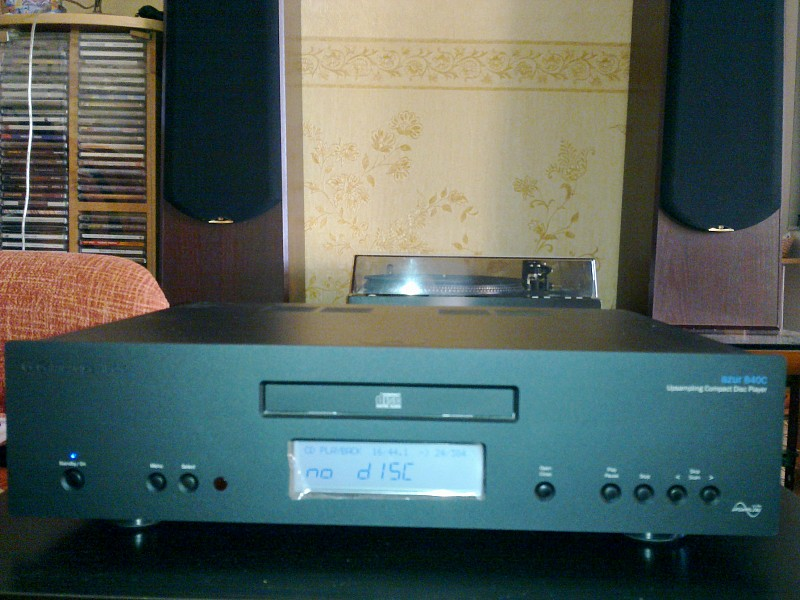 Сambridge azur audio 840C-B Compact Disc Player