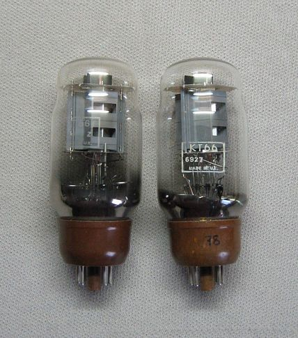 пару KT-66 MULLARD KT66 VBA Made In U.K. ~ 6L6GC CV1075 VT75 VT198 CV321 ACQa