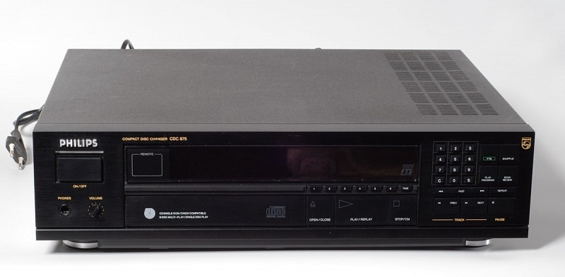 Philips CDC 875 CD changer