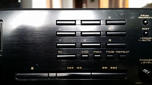Hi-Fi CD deck Pioneer PD-S503