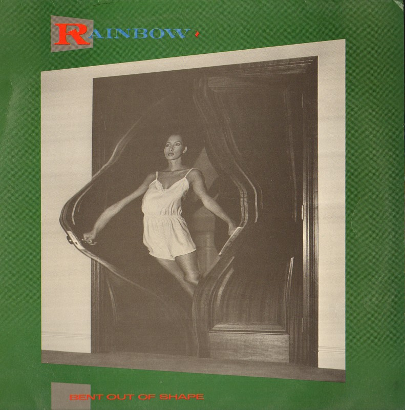 Винил RAINDOW /BENT OUT OF SHAPE / 1983/ SPAIN