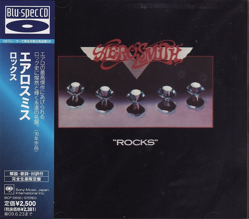 ФИРМЕННЫЕ CD.  AEROSMITH – ROCKS (JAPAN)