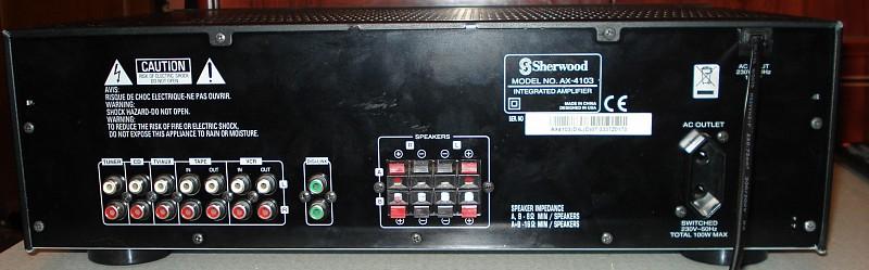 Инструкция Sherwood Ax-5505