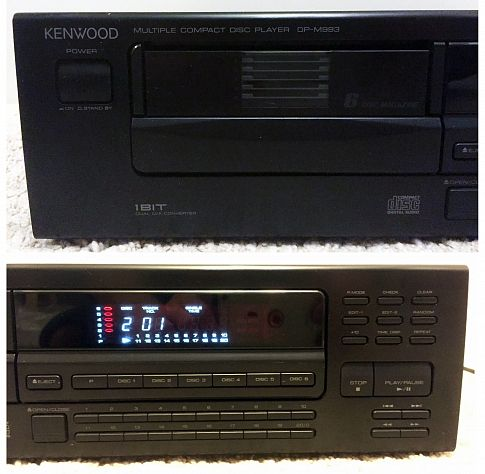 KENWOOD Multiple Compact Disc Player DP-M993