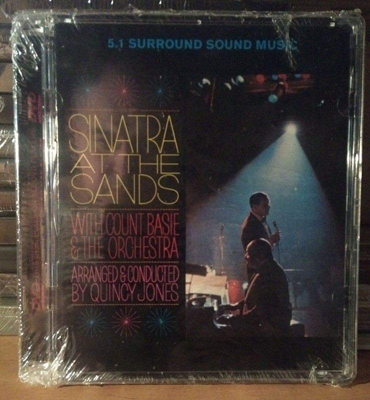 DVD Audio Sinatra at the Sands With Count Basie & Orchestra