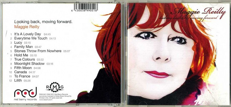 CD MAGGIE REILLY / LOOKING BACK MOVING FORWARD /2011 /EU