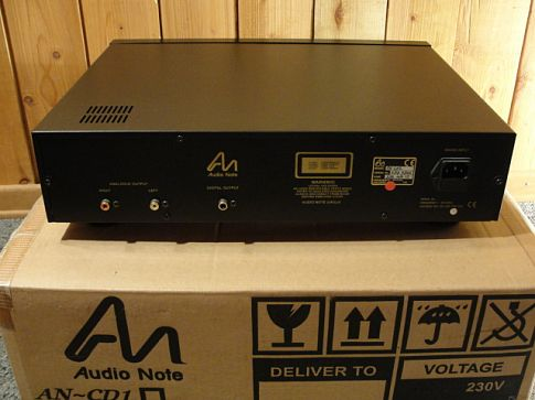 CD плеер Audio note CD-2
