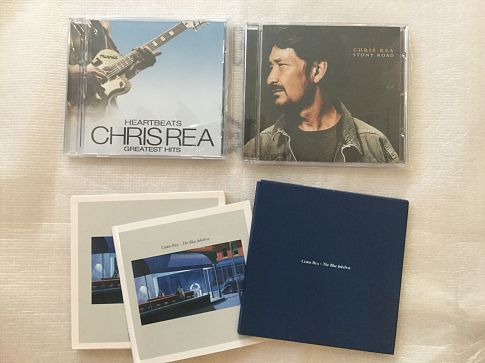 CD альбомы Chris Rea made in USA, UK.