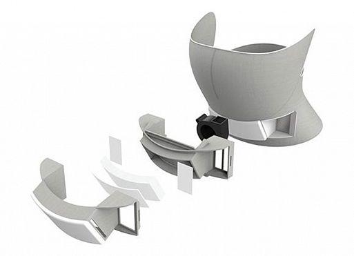 Футуристическая маска AiryTail от Panasonic очистит воздух