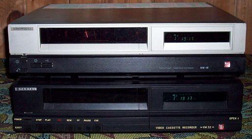 Топ 7 советских кассетных видеомагнитофонов