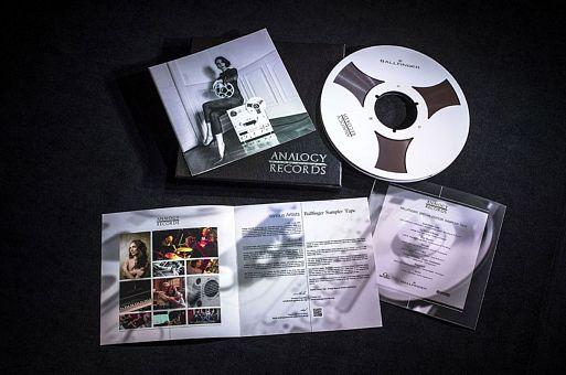 Analogy Records 15 IPS Sampler Tape for Ballfinger