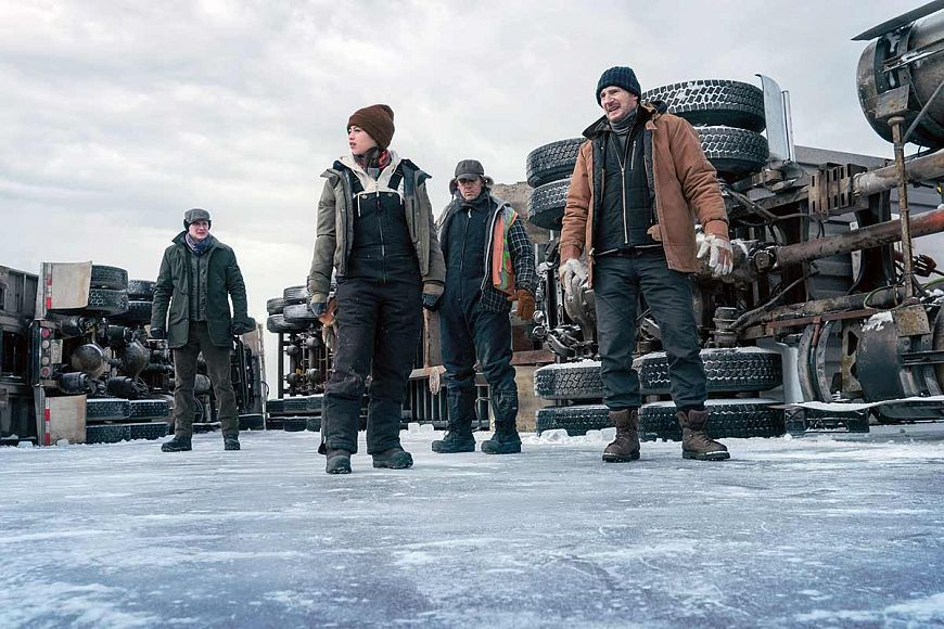 Ледяной драйв / The Ice Road (2021)