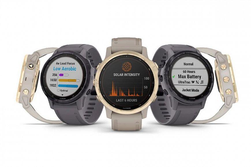 Спортивные часы Garmin Fenix 6S Solar