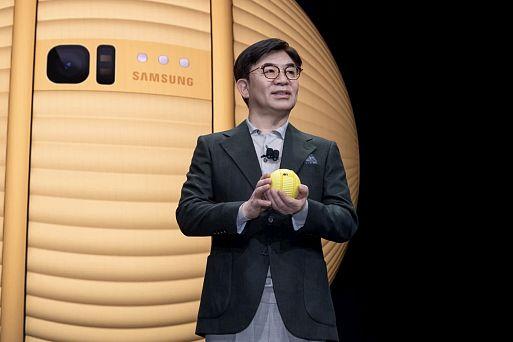 Персональный помощник Samsung Ballie
