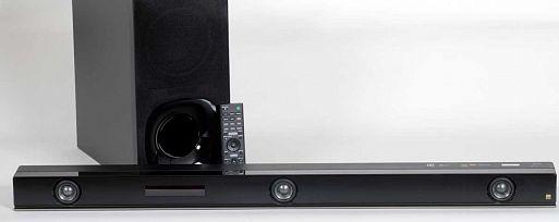 Саундбар с беспроводным сабвуфером Sony HT-ZF9