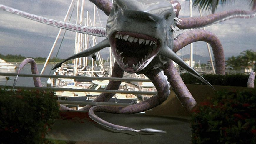 Акулосьминог против Китоволка / Sharktopus vs. Whalewolf (2015)