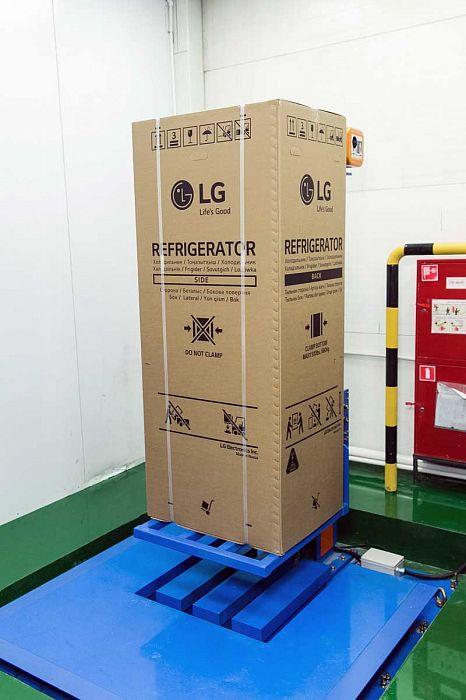 На российском заводе компании LG Electronics