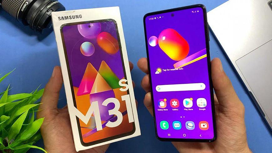 5. Samsung Galaxy M31s