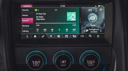 Слушай Spotify в своем Jaguar