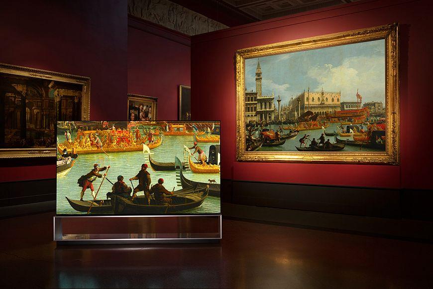 Кампания «LG SIGNATURE x Пушкинский музей»
