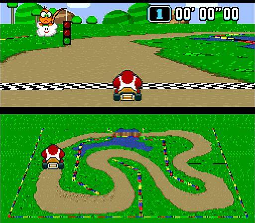 Super Mario Cart (1992)