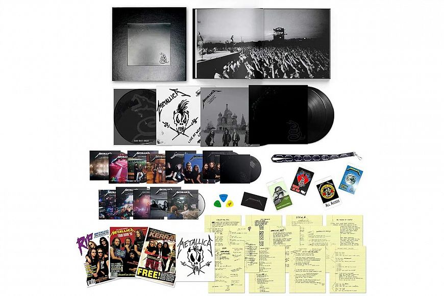 Metallica «Metallica» Deluxe Box Set