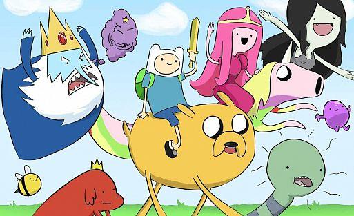 «Время приключений» / Adventure Time with Finn & Jake (2010, 10 сезонов)
