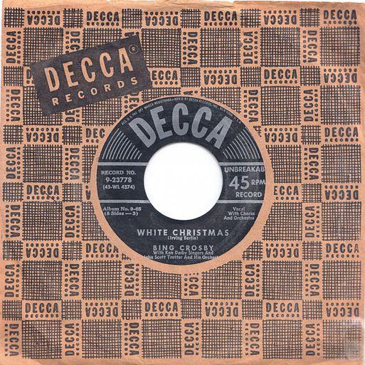 EP Bing Crosby / White Christmas (God Rest Ye Merry Gentlemen)