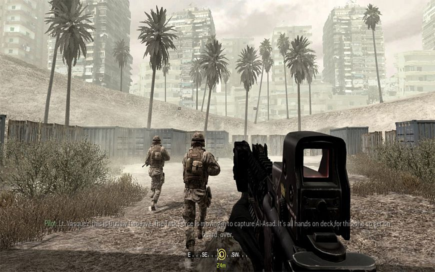4. Call Of Duty 4: Modern Warfare (2007)