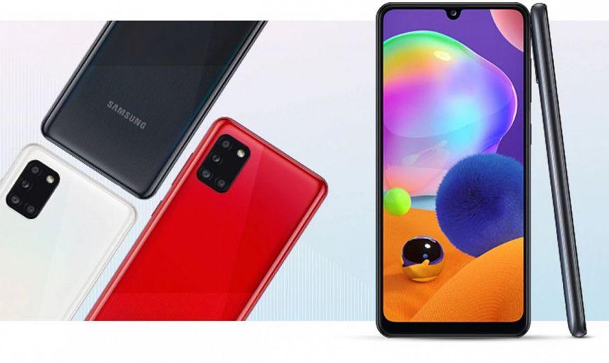 7. Samsung Galaxy A31
