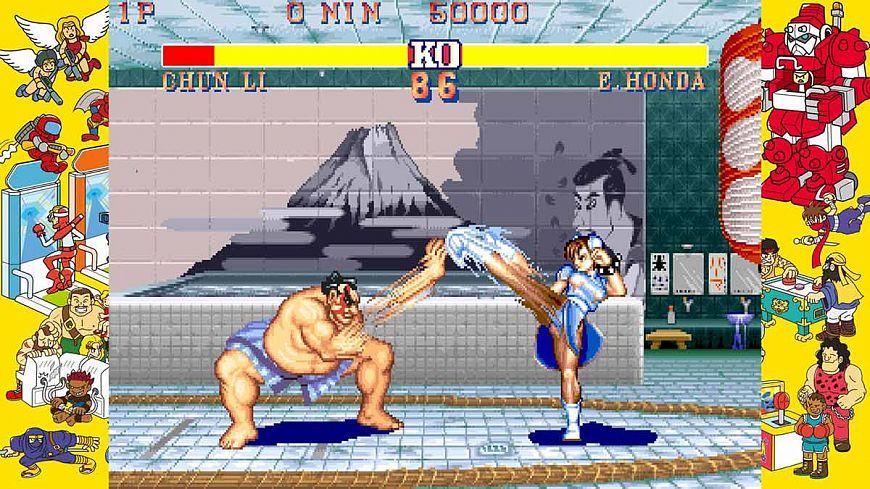 5. Capcom Arcade Stadium: STREET FIGHTER II - The World Warrior