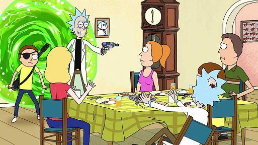 «Рик и Морти» / Rick and Morty (2013, 3 сезона)