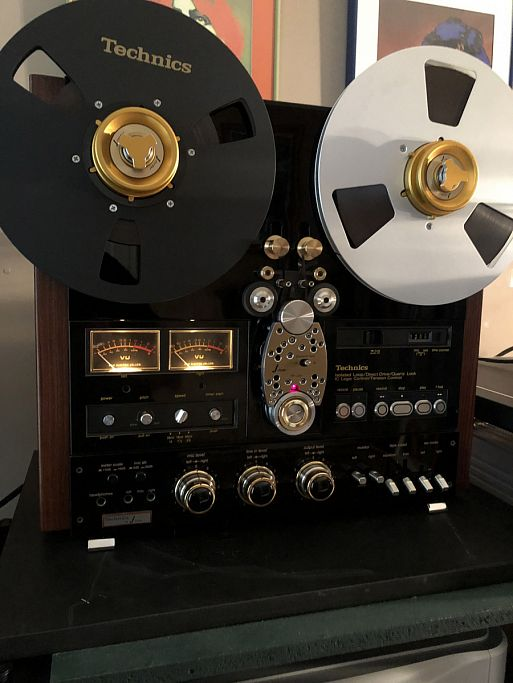 J-Corder — Custom Reel to Reel Tape Recorders